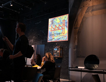 Animated logo Innovation Factory Dutch Design Week 2018