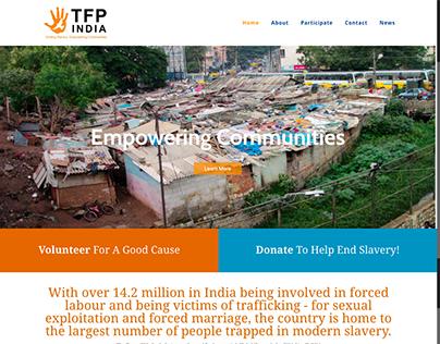 Charity Website Design & Development