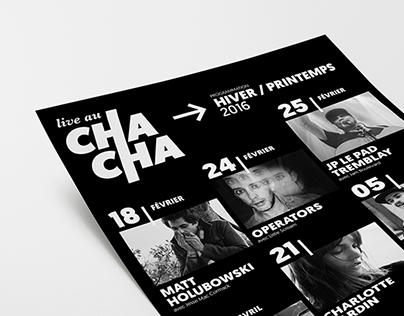 Live au Cha Cha