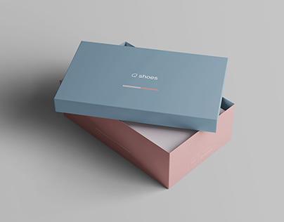 7 Shoe Box Mockups