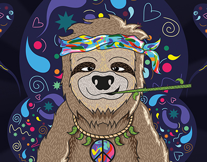 Hippie Sloth