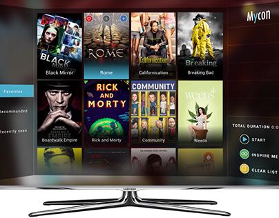 new TV UI/UX