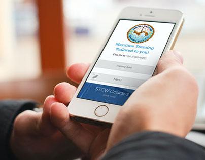 Panama Maritime Training Services Web Design