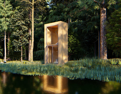 Silent Meditation Cabin