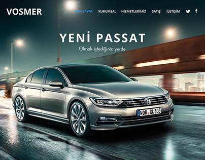 Vosmer Automotive Website