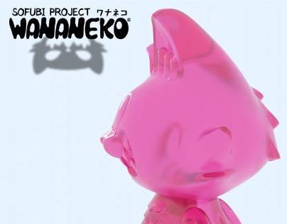 Making a Japanese soft vinyl toy: Wananeko