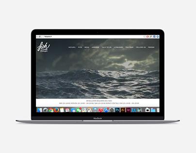 Création du site web Fich