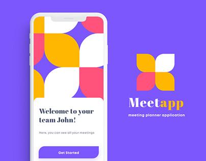 MEETAPP Meeting planner application