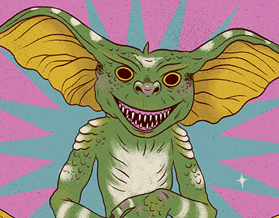 Gremlin para Horror Icons project