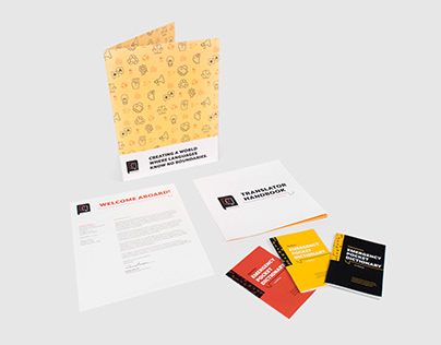 Collateral Design TRANSLATORS WITHOUT BORDERS