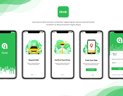 """""""Ekab"""" Taxi Service App"""