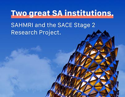 SAHMRI & SACE - flyer cover
