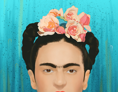 Frida Khalo Illustration