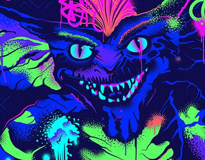 Alternative Movie Poster - Gremlins: Blacklight