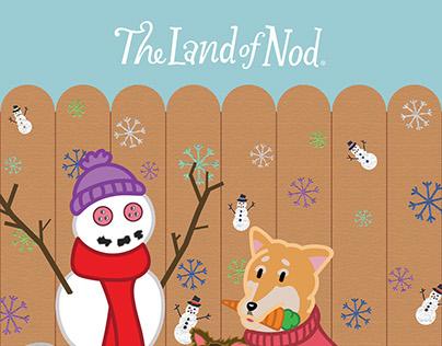 The Land of Nod - Catalog Illustration