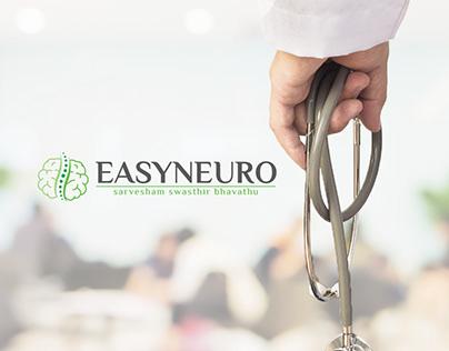 Easyneuro - Medical Logo Design - Harsh Designs