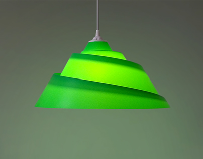SPIRAL - paper lamp
