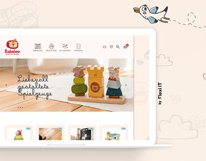 Toys Store Website Development