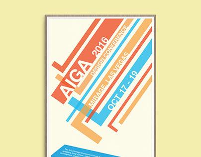 AIGA Conference Poster Concept