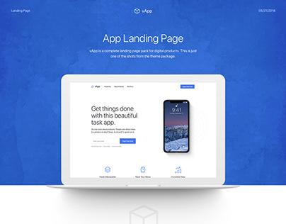 vApp - Product Landing Page