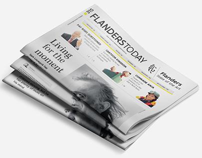 Flanders Today - Redesign 2014