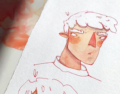 Random character boy 🧡
