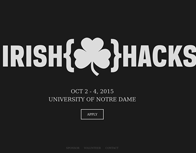 IrishHacks website