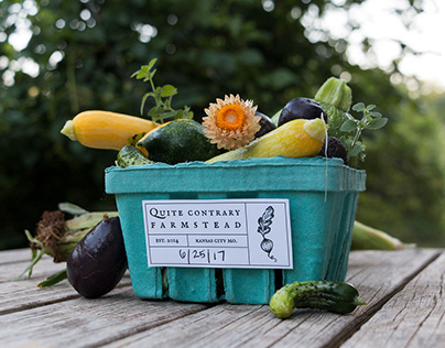 Quite Contrary Farmstead: Branding & Green Packaging