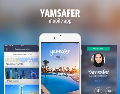 Yamsafer -mobile app-