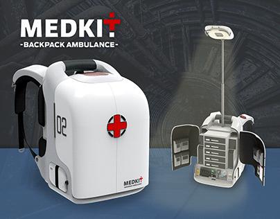 MEDKIT - Backpack Ambulance -