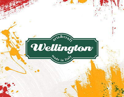 WELLINGTON identity brand
