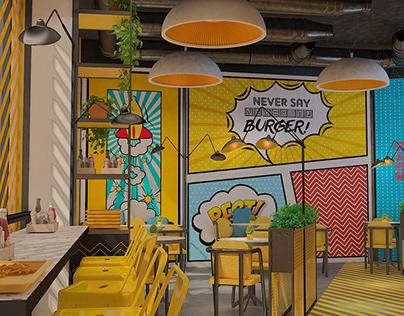 Yellow Burger & Fries - Oman 2nd Restaurant