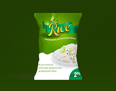Creative Rice Packaging