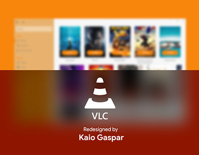 Redesign VLC - Fluent Design