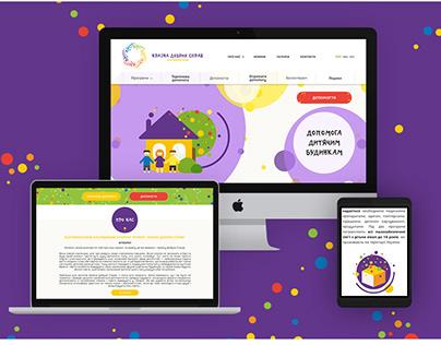 """Logo & site for """"Країна добрих справ"""""""