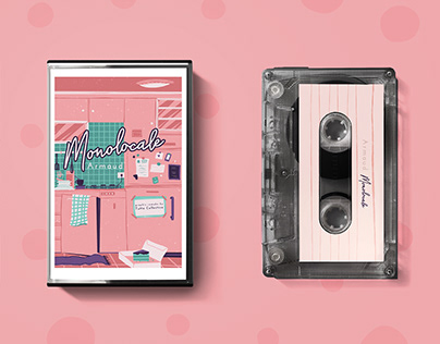 PACKAGING - cassette design of 'Monolocale' Armaud