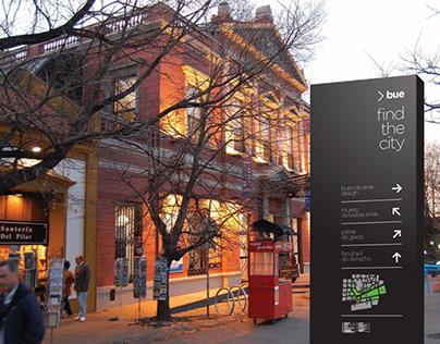 Buenos Aires Wayfinding Sistem