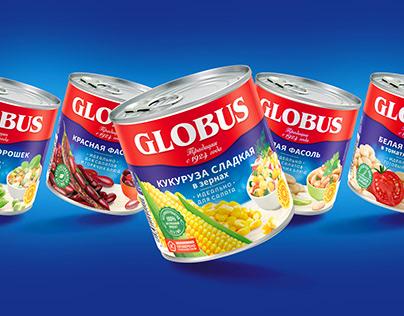Globus - legendary taste in a new package.