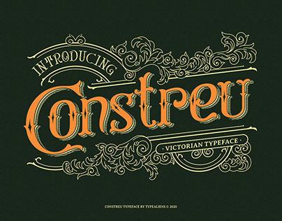 Constreu Vintage Victorian Typeface