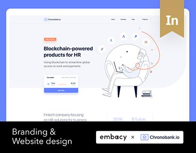 Chronobank Branding & Website Design