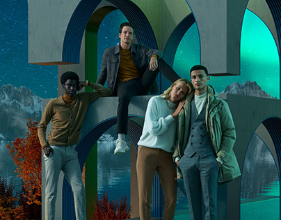 WE Fashion worldwide campaign shot by Marta Musial