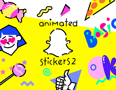 Snapchat Animated Stickers / Part 2