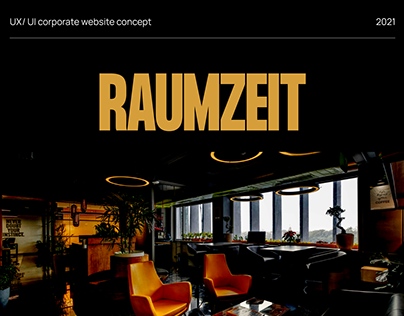 Development of a corporate website for coworking
