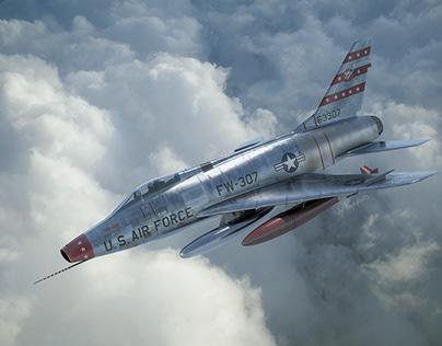 Cold War Super Sabre