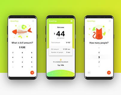 Green Tip | Tip Calculator App