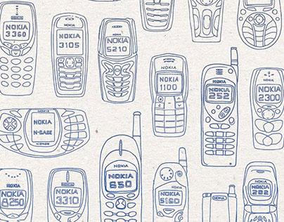 Vintage Nokias