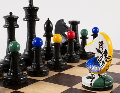 Fernand Léger chess set