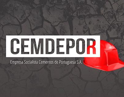 CEMDEPOR - Logo & Diseño web