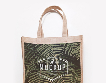 3 Jute & Tote Bags Mock Up Freebie