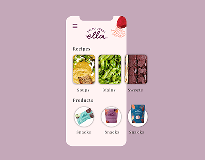 Deliciously Ella Concept App Design
